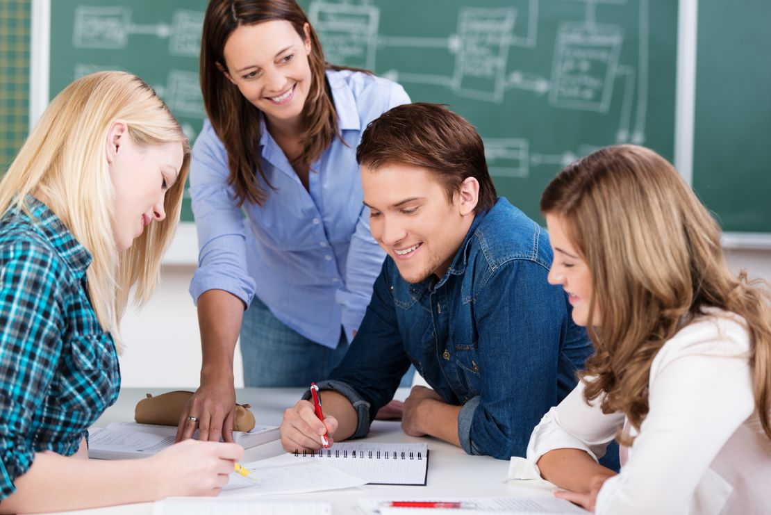 Language lessons in small groups - The Learning Place GmbH